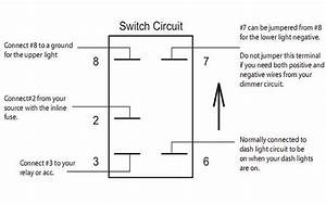 5 Pin Rocker Switch Wiring Diagram