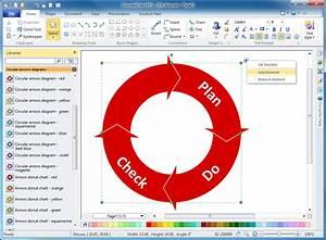 Circular Arrows Diagrams Solution