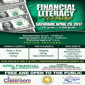 Financial Literacy Workshop – Meet Me At The Top
