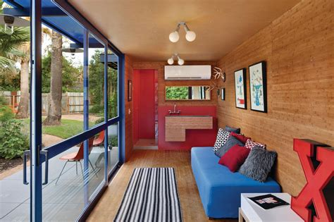 trailer home interior design shipping container guest house by jim poteet architecture design