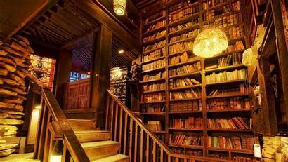 Books Library Desktop Background Wallpapers Laptop Backgrounds