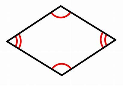 Rhombus Definition Svg Wikimedia Commons Pixels Angle