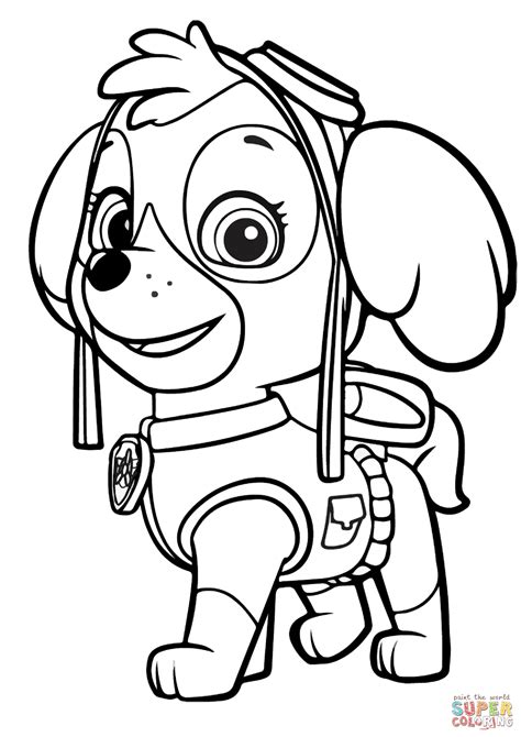 free printable paw patrol coloring pages paw patrol coloring page free printable coloring pages