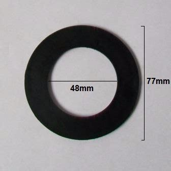 mcalpine mm flat rubber washer seal rww