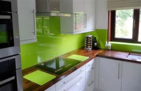 green kitchen splashbacks glass splashbacks for kitchen modern glass 1436
