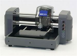 roland egx 20 engraving machine With engraved label maker