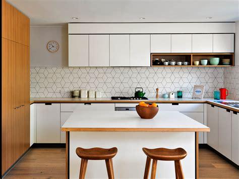 create  mid century inspired kitchen