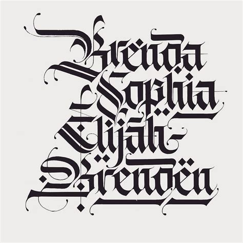 typography what s the clean blackletter font used in follow us type i blackletter fraktur 13709