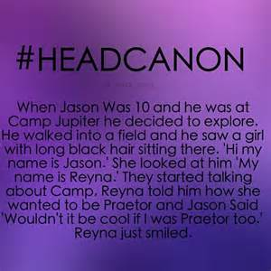Jason and Piper Percy Jackson Headcanons