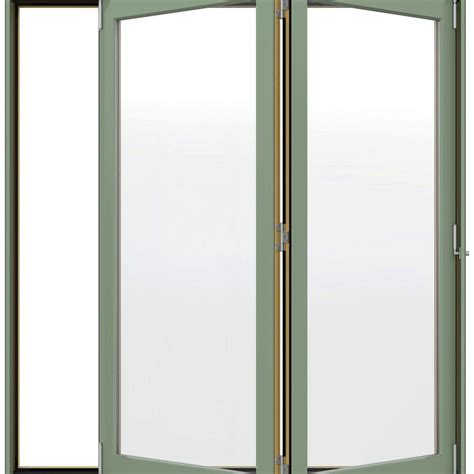 jeld wen w 4500 series right folding wood patio door