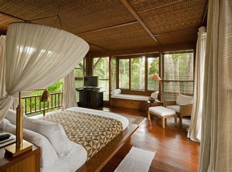Bali Inspired Home Interior by Como Shambhala Estate Bali Bamboo Matting And Wood Organic