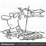 Raft Clipart Illustration Leishman Royalty Drawing Rf Ron Toonaday Getdrawings sketch template