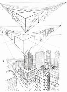 Architektur Zeichnen Lernen : 2 point perspective city drawing size as the drawing that is taped on the top to protect ~ Markanthonyermac.com Haus und Dekorationen