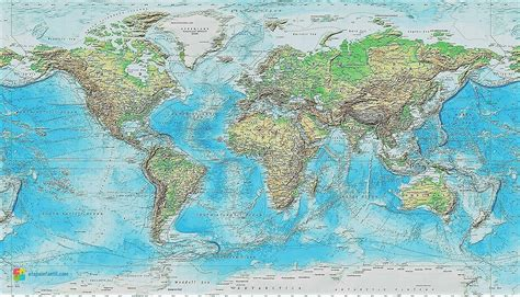 Mapamundis de todos los tipos | La web de los mapas del mundo