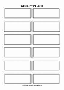 editable word cards black and white 12 per page With word label template 12 per sheet