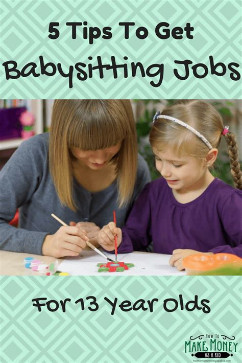 easy babysitting jobs   year olds