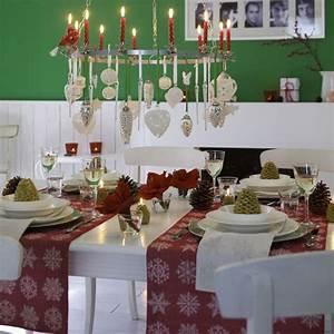 Tischdeko Rot Weiß : deko f r die weihnachtstafel rot wei mit gr n ~ Indierocktalk.com Haus und Dekorationen