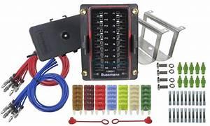 Prolec 20 Way Fuse Block Box Holder Kit Mini Blade Caravan