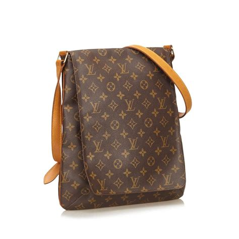 monogram musette salsa long strap louis vuitton  stdibs