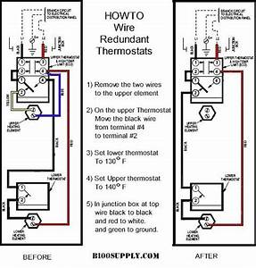 Electric Hot Water Heater Diagram