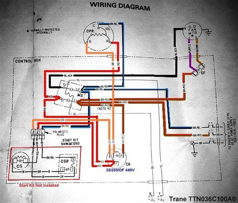 trane xe1000 wiring diagram wiring diagram and schematic