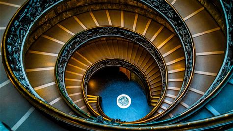 vatican spiral staircase wallpapers hd wallpapers id