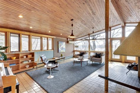 clerestory windows midcentury masterpiece 1955 time capsule quot tile house quot in