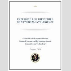 National Science And Technology Council Report Preparing