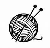Yarn Needles Clipart Illustration Vector Wool Knitting Balls Ball Format Royalty Cliparts Illustrations Eps Depositphotos Shutterstock Craft Handmade Cartoons Clipartmag sketch template