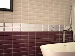 carrelage salle de bain beige With carrelage miroir salle de bain