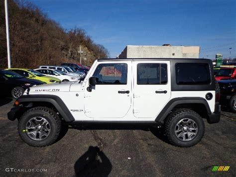 jeep rubicon white interior 2013 bright white jeep wrangler unlimited rubicon 4x4