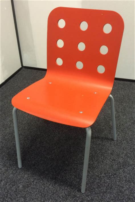 Ikea Snille Chair Cover by Orange Ikea Jules Chairs X 8 Snille Chair X 1 For Sale In