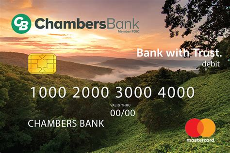 Here are the current phone numbers: Debit Cards » Chambers Bank