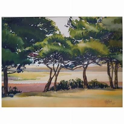 Watercolor Landscape American Paintings Plein Air Artist
