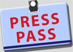 press pass pictures to pin on pinterest pinsdaddy With media press pass template