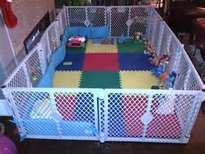 DIY Baby Play Yard