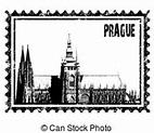 Prague landmark Clip Art Vector Graphics. 853 Prague ...