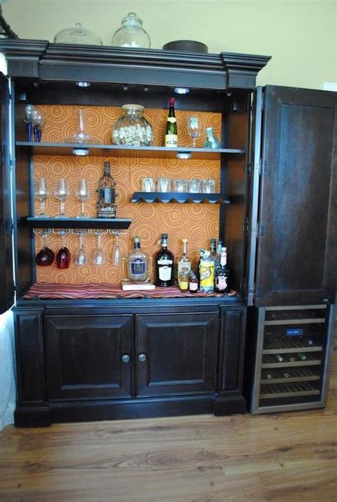 armoire cabinet into a bar 15 creative ways to repurpose an antique armoire