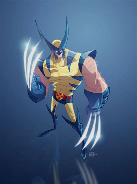 40+ Marvelous Wolverine Illustration Artworks  Naldz Graphics