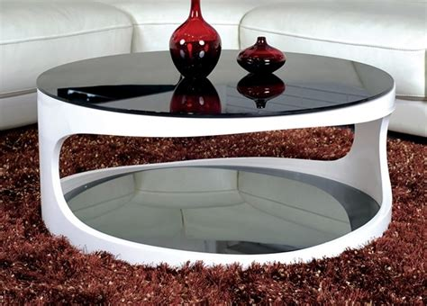 Coffee Table. Fresh Collection Modern Round Coffee Table