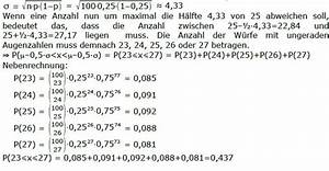 Oberstufe Durchschnitt Berechnen : binomialverteilung binomial verteilung diskrete ~ Themetempest.com Abrechnung