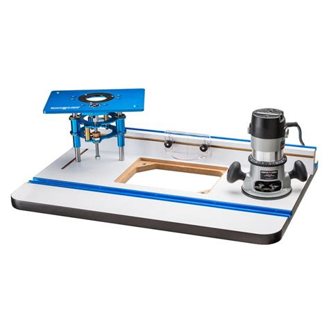 router table and router rockler high pressure laminate router table fence router