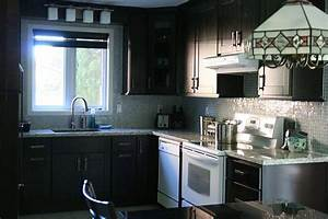 black kitchen cabinets with any type of decor 1496