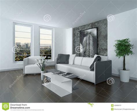 canapa d angle salon gris fonce et blanc