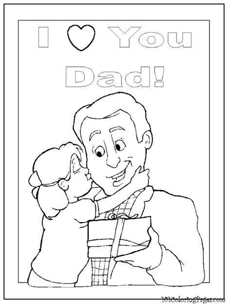 happy birthday daddy coloring pages    print