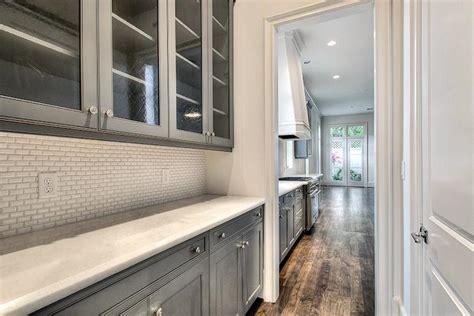 Beveled Subway Tile Backsplash : Mini Beveled Subway Tile Kitchen Backsplash Design Ideas