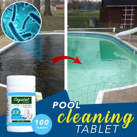 pool cleaning tablet  tablets mallonline