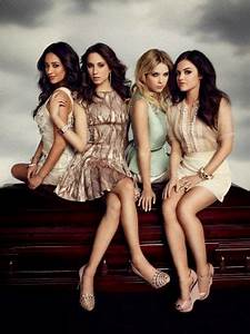 Aria, Emily, Hanna and Spencer | pretty little liars ...