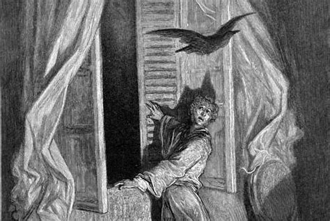 """9 Mournful Facts About Edgar Allan Poe's """"the Raven""""  Mental Floss"""