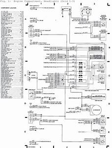 1992 Subaru Svx Engine Compartment  Headlights  System Wiring Diagrams